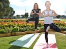 YOGA for kids is sweeping the nation and the South Burnett is no exception.