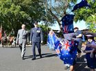 A SERVICEMAN told Ipswich Girls' Grammar School students Anzac Day should be for reflection rather than nationalism at a ceremony on Wednesday.