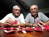 They served their country in war - and today Dick Frew and Patrick Nolan are marking Anzac Day. They talk to Genevieve Helliwell about their experiences.
