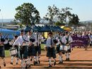 WALKERS of all ages, shapes and sizes converged on the Gatton Showgrounds at the weekend to raise money for cancer research.