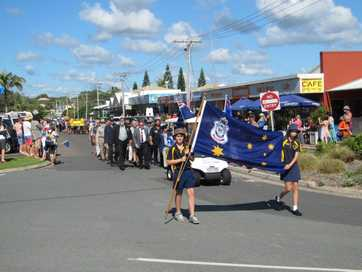 The Gympie region pays tribute to the Anzacs.