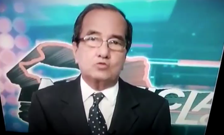 AS IF to prove it isn't just rookie newsreaders that have on-air meltdowns - veteran Puerto Rico news man Saúl Cordero has become the latest victim of on-air gaffe syndrome.
