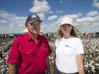Property owner Graham Clapham and organiser Ruth Armstrong both spoke at the rally.