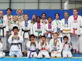 DEDICATED competitors from the Ipswich Karate Association at the Redbank-Collingwood Park Sports Centre are fighting fit and progressing well.