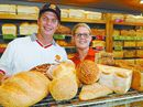 MORE customers are choosing to experience the taste of different breads, like wholemeal and grain, although the classic white loaf is still the favourite.