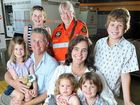 THE family that became the world-wide face of the Tasmanian bush fires has come to Marburg thanks to the kindness of strangers.