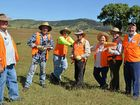 A GROUP of volunteers has started the monumental task of assisting flood-affected farmers in the Mulgowie area.