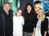 KELLY Osbourne insists she and her boyfriend Matthew Mosshart are not engaged and she doesn't know where the reports have come from.