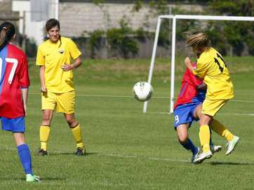 Tauranga City United against Manukau City and  Bay of Plenty Women against Fencibles United. Photos by George Novak.