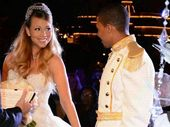 Mariah Carey and Nick Cannon renewing their vows and holding hands with their twins.