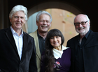 THE golden voice of The Seekers, Judith Durham, has been hospitalised, forcing the group to postpone their golden jubilee tour of Australia.