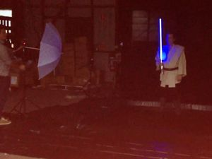 Making of our Star Wars photo