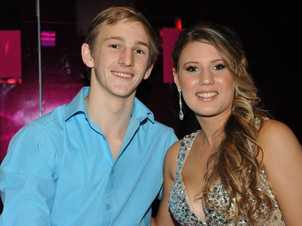 (left) Michael Caulfield and Michaela Forward at the Sunshine Coast Grammar formal at the Caloundra RSL. Photo: Iain Curry / Sunshine Coast Daily