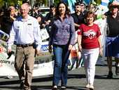 IPSWICH has become a centrepiece of the ALP's campaign to win back the State Government.
