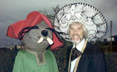 LEGEND: Mexican Mick, Mick Chambray and friend.