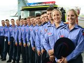 THE arrival of 16 new firefighting recruits will put Ipswich ahead of any shortfall in emergency services responses as the population continues to grow.