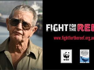 Curtis Island resident features in Fight for the Reef ad