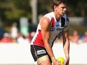 ST Kilda forward Justin Koschitzke will miss his team's matches against Carlton and Adelaide after accepting a two-week ban for striking Jamie Elliott.