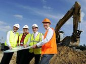 Excavation works are under way at the site of the new West Ipswich Bunnings on the corner of Clay and Brisbane Sts.