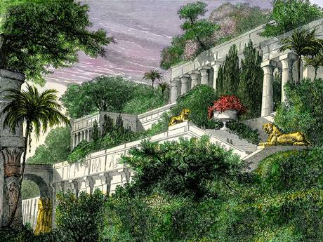 The Hanging Gardens of Babylon were actually in Ninevah, says a historian.