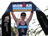 After making a difficult debut at the Cairns Ironman last season, it's easy to understand why Ange Castle simply wanted an issue-free race at Ironman Australia.