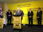 CLIVE Palmer says his party is ready to govern and to put an end to the two party duopoly in Australia at the September 7 election.