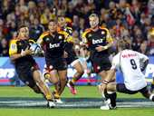 The Chiefs sit on top of the New Zealand Super Rugby conference after a 39-33 win over the Rebels in Melbourne last Friday night.