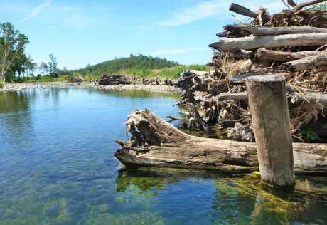 NEW PROJECT: Engineered Log Jam on the O'Connell River.