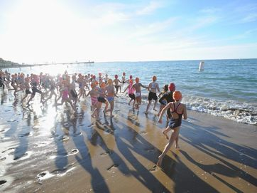 Junior triathletes took to the streets of Hervey Bay in the Go Kids Triathlon held as part of the triathlon weekend on the Fraser Coast.
