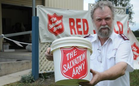 Salvation Army Major Peter Maynard is calling for donations and volunteers for this year's Red Shield Appeal.