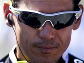 A file picture of Robbie McEwen during the Tour Down Under in South Australia last year.