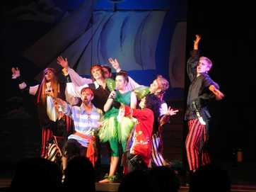 A huge cast of students have put on a stellar Peter Pan musical this week.