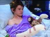&lt;strong&gt;UPDATED:&lt;/strong&gt; THE Ipswich teenager seriously maimed when a homemade bomb exploded in his hands begged his mother to wake him up from the nightmare.