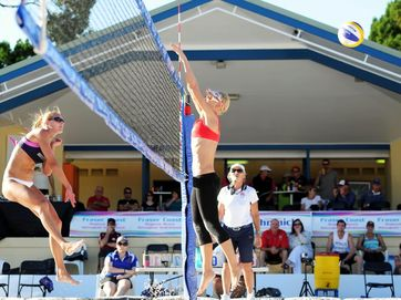 Fraser Coast Regional Beach Volleyball Invitational - Another action packed event has been hosted in Hervey Bay, delivering free entertainment to the community.
