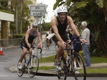 Images from the Byron Bay Triathlon at the weekend.
