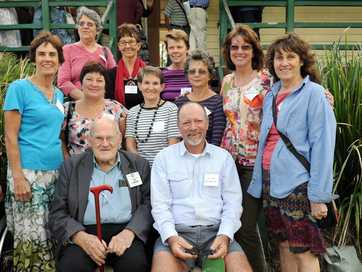 Former students and teachers gathered for Nikenbah State School's 100th anniversary. It was opened in 1913 and closed in 1963.