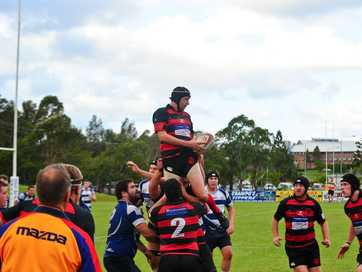 The pick of the action from the Coffs local derby between Coffs Rugby Snappers and SCU Marlins at Marlins Park.