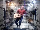 The clip was recorded on board the International Space Station using Hadfield's Guitar and Vocals before being produced planetside by Joe Corcoran.
