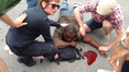 A man is wounded in a shooting during a Mother's Day parade in New Orleans. Image: Twitter