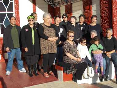 LEARNING EXPERIENCE: Participants at the year&#39;s first paepae wananga.