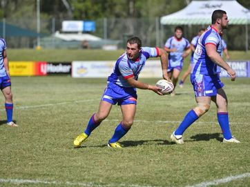 RUGBY LEAGUE: Match between Rockhampton and Toowoomba at the 47th Battalion rugby league carnival at Marley Brown Oval, Gladstone.