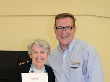 The Gympie Volunteer Recognition Award Ceremony was hosted by Member for Gympie David Gibson.