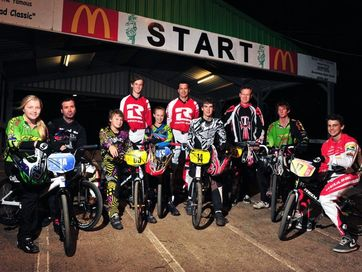 Bundaberg riders who returned with Australian plates.