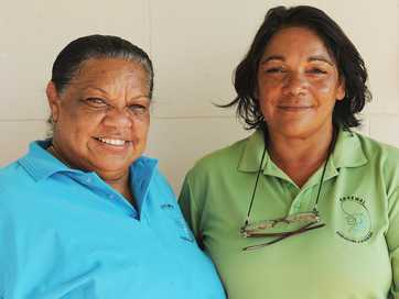 Images of some of the Aboriginal land custodians from across NSW who visited Byron Bay yesterday.