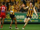 HAWTHORN&#39;S Jarryd Roughead has ended speculation over his future  signing a new deal with the Hawks.