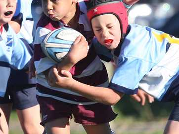 Youngsters took to the rugby fields on Saturday for the start of another term of winter sports. Rotorua Daily Post photographer Ben Fraser was there to capture the action.