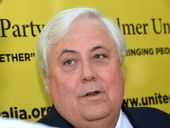ASPIRING Prime Minister Clive Palmer has definitely lost one vote. A conference manager says she was bullied and manhandled by members of his party.