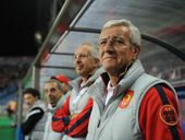Marcello Romeo Lippi, coach of Guangzhou Evergrande looks on prior to the AFC Champions League Group F match between Urawa Red Diamonds and Guangzhou Evergrande on April 24, 2013 in Saitama, Japan.