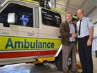 Minister for Police and Community Safety Jack Dempsey handed over a new response vehicle to Roma ambulance station this morning.