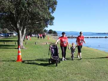 the Jennian Homes Mother's Day run on Sunday